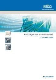 REO Kaçak alan transformatörü 2'si 1 arada çözüm