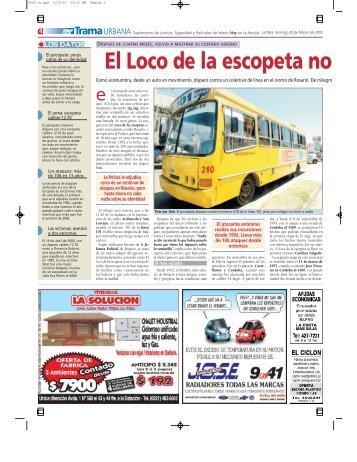 El Loco de la escopeta no - Diario Hoy