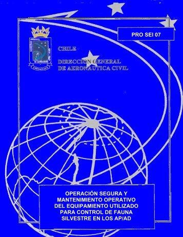 pro operacin segura y mantenimiento operativo equipamiento rpa