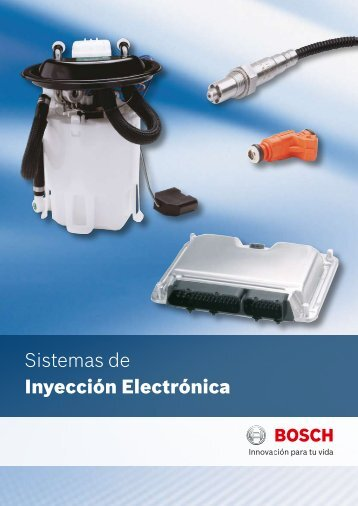 Sistemas de Inyección Electrónica - Bosch