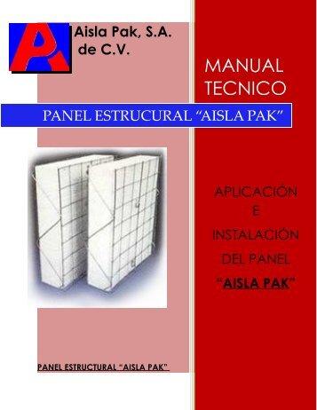 Panel - Aisla Pak