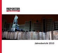Der Jahresbericht 2010 als PDF - Reporter ohne Grenzen