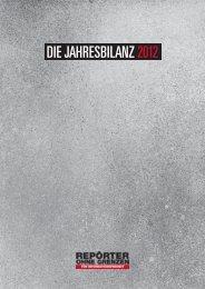 DIE JAHRESBILANZ 2012 - Reporter ohne Grenzen