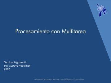 Procesamiento Multitarea en 32 y 64 bits - Universidad Tecnológica ...