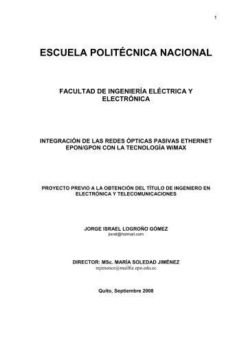 referencias bibliográficas - Repositorio Digital EPN - Escuela ...