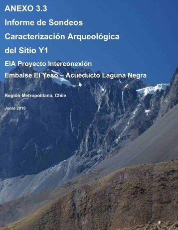 Anexo 3.3 Informe Sondeo Arqueológico