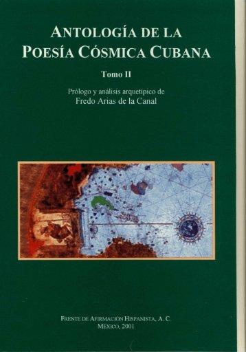 antología de la poesía cósmica cubana - Frente de Afirmación ...