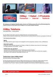 (Microsoft Powerpoint - Telefonie Folder Juli 2011 - Hiway