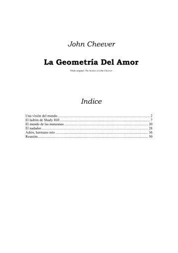 La Geometría Del Amor.pdf - RazonEs de SER