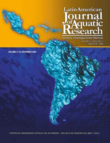 s - Latin American Journal of Aquatic Research