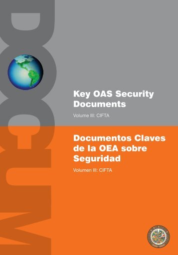Documentos Claves de la OEA sobre Seguridad, Vol. III CIFTA