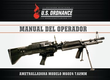 MANUAL DEL OPERADOR - US Ordnance