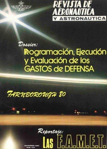 Nº 479 1980 Noviembre - Portal de Cultura de Defensa - Ministerio ...