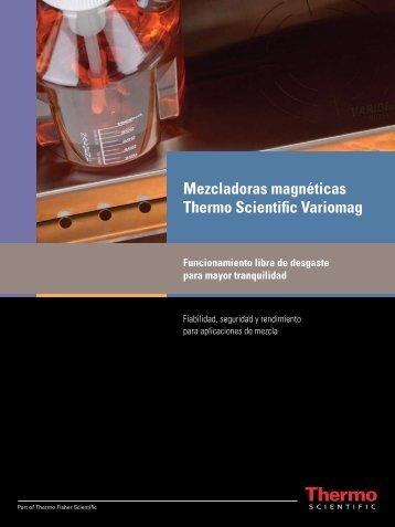 Mezcladoras magnéticas Thermo Scientific Variomag