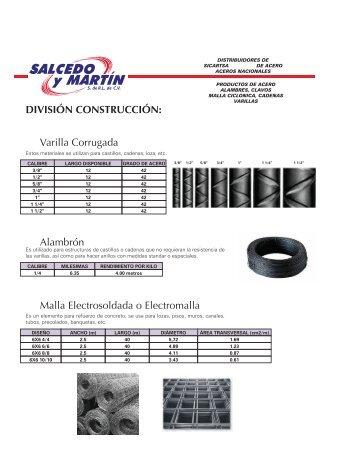 catálogo - Salcedo y Martín S. de RL de CV