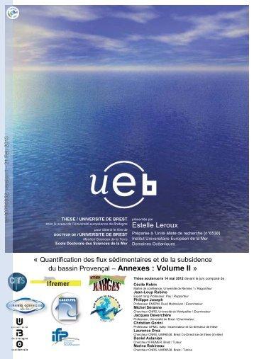 Quantification des flux sédimentaires et de la subsidence du bassin ...