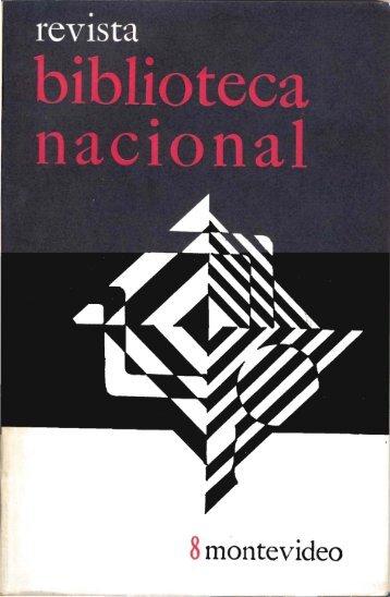 Nº 8 (dic. 1974) - Publicaciones Periódicas del Uruguay