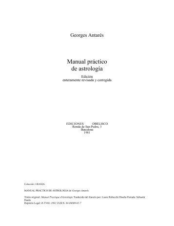 Manual practico de astrologia - Bligoo.com