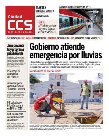 MARTES - Ciudad CCS