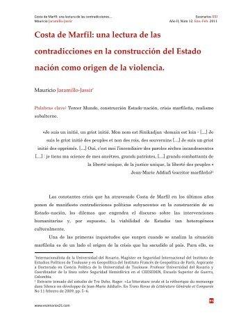 Costa de Marfil: una lectura de las contradicciones ... - Escenarios XXI