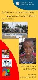 La Paz es un comportamiento: Mujeres de Costa de Marfil
