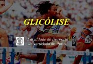 Glicólise - Faculdade de Desporto da Universidade do Porto
