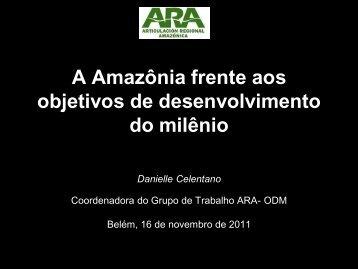 Danielle Celentano - Fórum Amazônia Sustentável