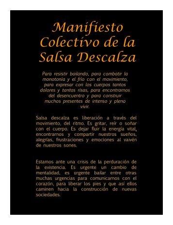 manifiesto pdf - Salsa descalza