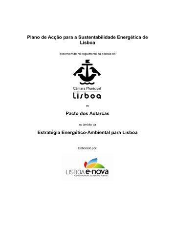 Plano de Acção para a Sustentabilidade Energética de Lisboa