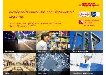 Apresentação DHL - GS1 Portugal