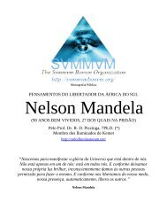 O Pensamento de Nelson Mandela - Ordo Svmmvm Bonvm