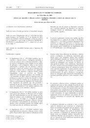 Regulamento (CE) n.o 450/2009 da Comissão, de 29 de ... - EUR-Lex