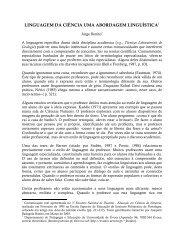 linguagem da ciência uma abordagem linguística - Universidade de ...