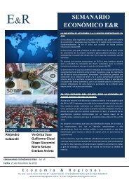 Lea el informe completo de Economía & Regiones - Infobae.com