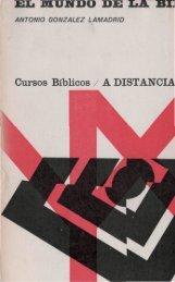Cursos Bíblicos / A DISTANCIA - El Mundo Bíblico