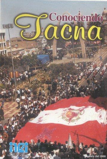 Conociendo Tacna 2000 - Inei