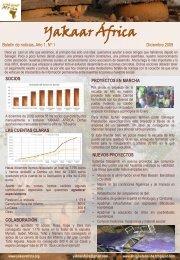 Boletin Noticias 1 - Yakaar Africa