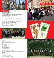 Deutsches Trachtenfest - Altenburg Tourismus