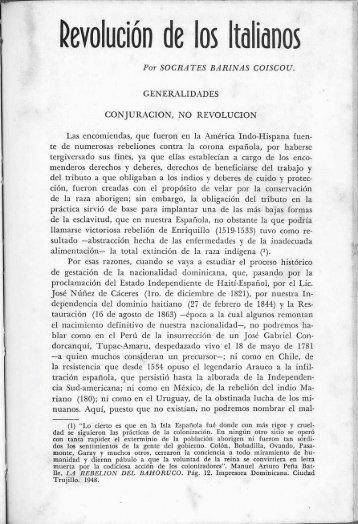 Revolución de los Italianos - BAGN