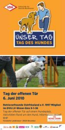 VDH Plakat - Retrieverfreunde Ostfriesland e.V.