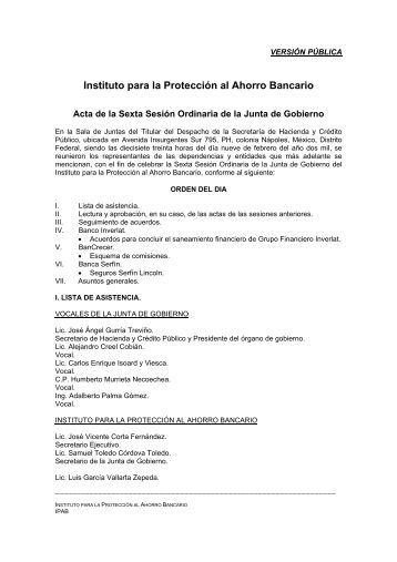 Instituto para la Protección al Ahorro Bancario - IPAB