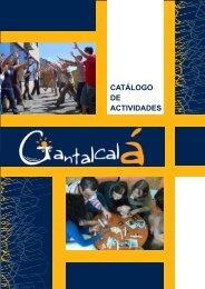 Descarga Catálogo de actividades según público - Gantalcalá