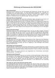 Einführung Geocaching - Altenburg Tourismus