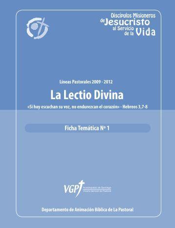 Ficha Lectio Divina - Parroquia el Señor de Renca