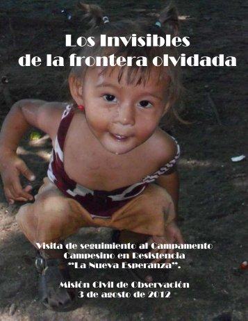 Los Invisibles de la frontera olvidada - Red Nacional de Organismos ...
