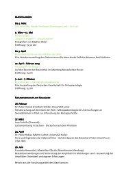Mauritianum Ausstellungen bis Sommer 2012 - Altenburg Tourismus