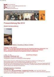 Aktuelle Veranstaltungen - Altenburg Tourismus