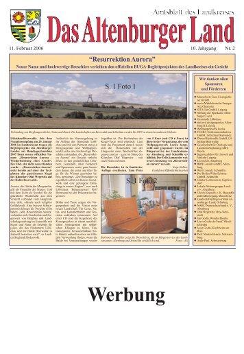 Grüner Woche - Altenburger Land