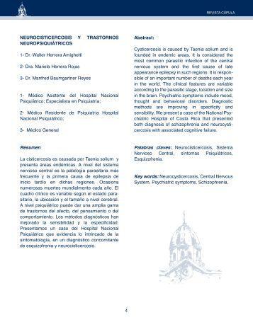 4 NEUROCISTICERCOSIS Y TRASTORNOS ... - Binasss
