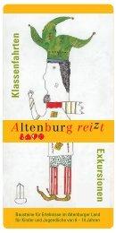 im wilden Osterland! - Altenburg Tourismus